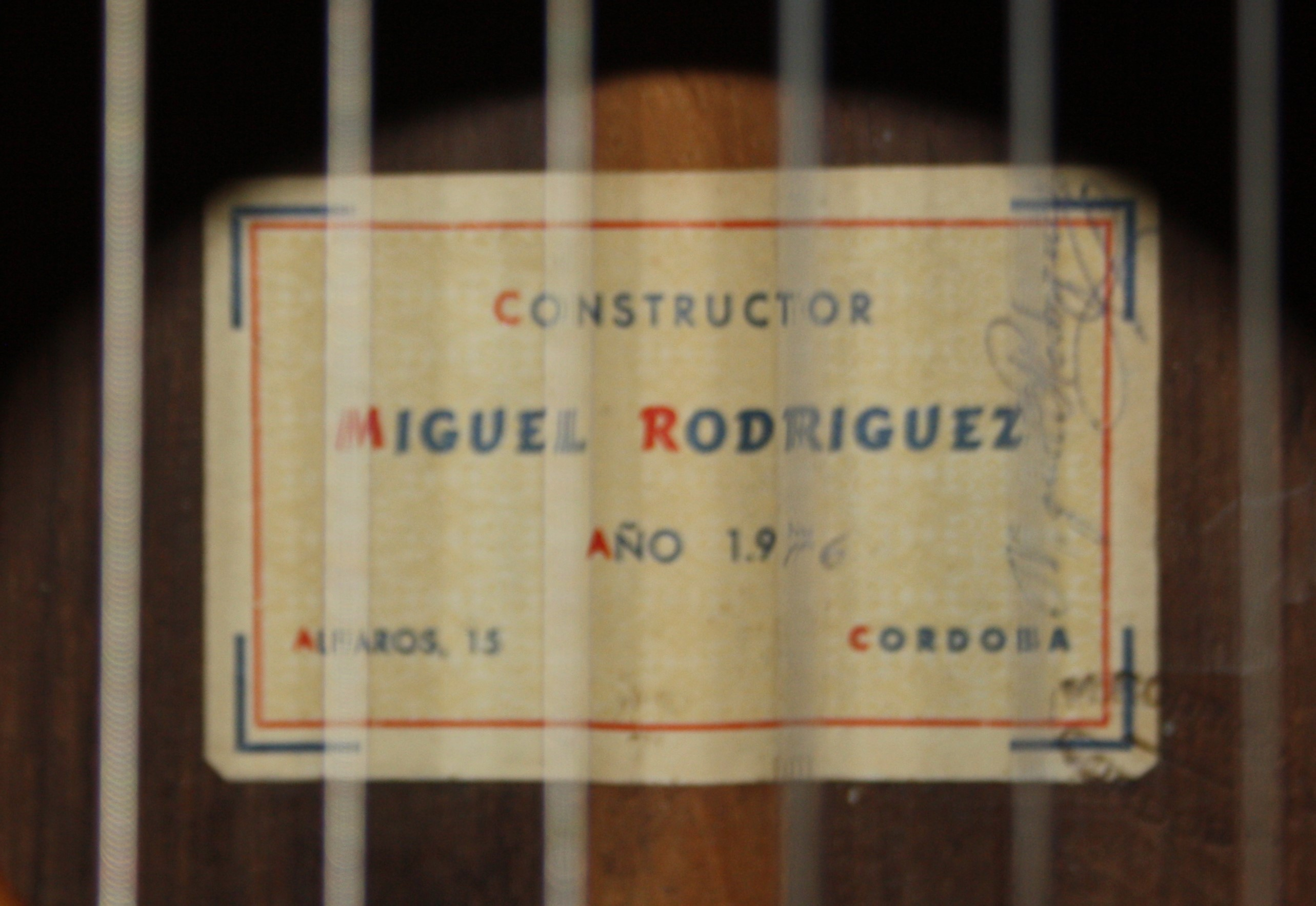 Russell Cleveland Collection - Miguel Rodriguez 1976